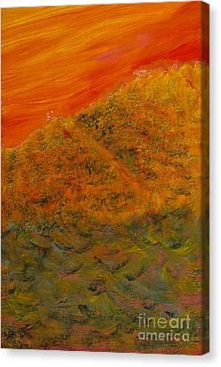 Big Kahuna Canvas Print - Boelge/wave by Suzanne Thobro