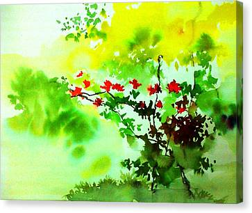 Boganwel Canvas Print by Anil Nene