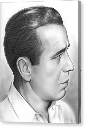 Bogart Canvas Print by Greg Joens