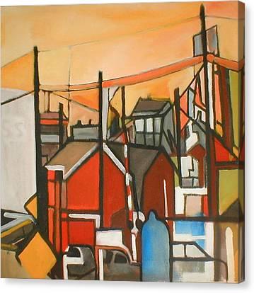 Bogota Industrial Canvas Print