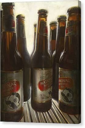 Boh In The Fridge Canvas Print by David Showalter