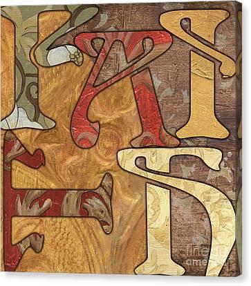 Bohemian Faith Canvas Print by Debbie DeWitt