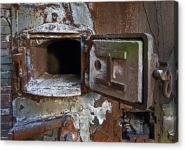 Boiler Door Canvas Print by Murray Bloom