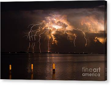 Boiling Energy Canvas Print