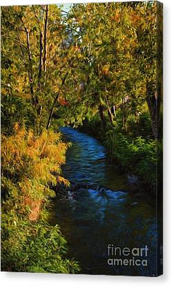 Cost Line Canvas Print - Boise Afternoon by Jon Burch Photography