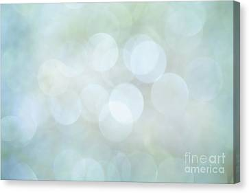 Canvas Print featuring the photograph Bokeh Clouds by Jan Bickerton