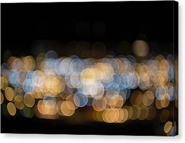 Canvas Print featuring the photograph Bokeh  by Jingjits Photography