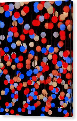 Canvas Print - Bokeh Lights by Ranjini Kandasamy