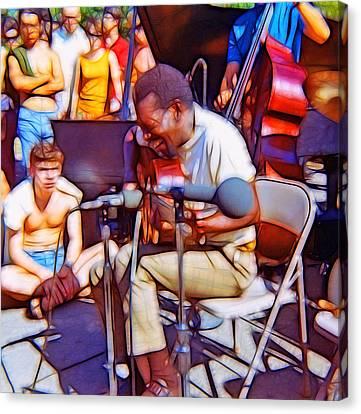 Bola Sete Live At Seward Park Canvas Print by Tim Coleman