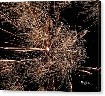 Canvas Print featuring the photograph Bold Burst #0711 by Barbara Tristan