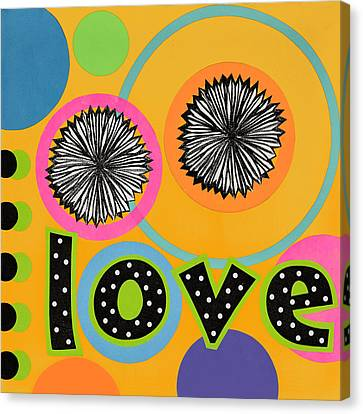 Bold Love Canvas Print