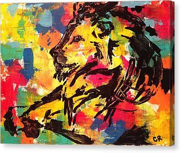 Boldness Canvas Print