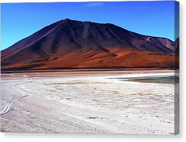 Canvas Print featuring the photograph Bolivian Altiplano, South America by Aidan Moran