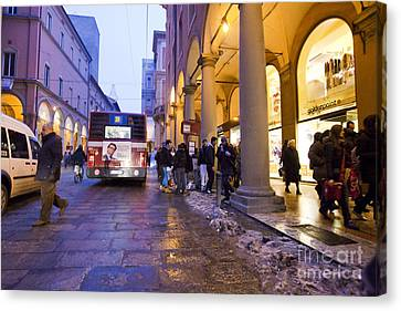 Bologna At Dusk Canvas Print