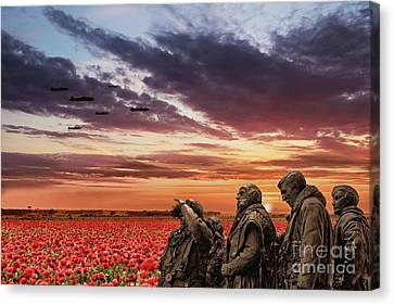 Bomber Command Canvas Print