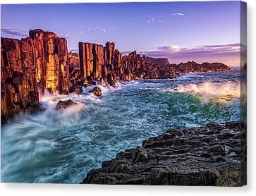 Bombo Cliff Sunrise Canvas Print