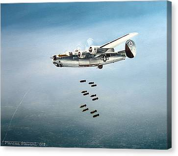 Bombs Away Canvas Print by Marc Stewart