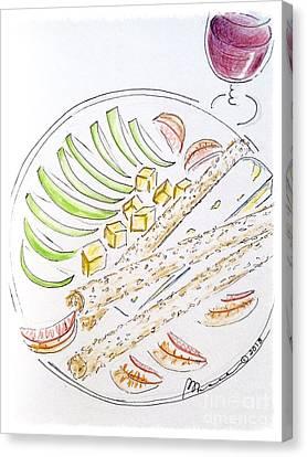 Bon Appetit  Canvas Print by Barbara Chase