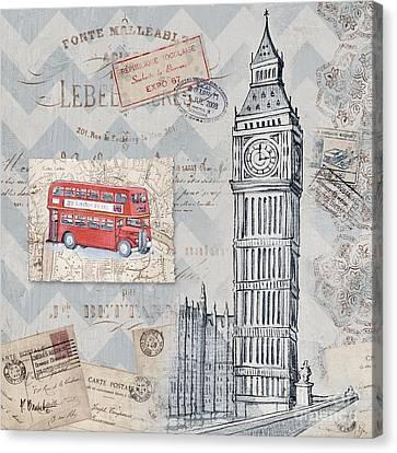 Bon Voyage Iv Canvas Print by Paul Brent