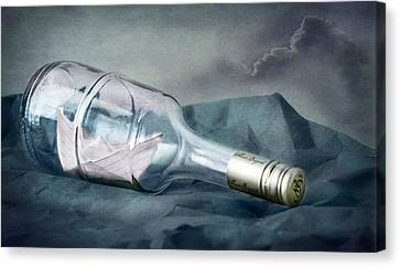 Bon Voyage Canvas Print by Maggie Terlecki