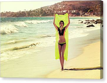 Bond Girl Laguna Beach Canvas Print