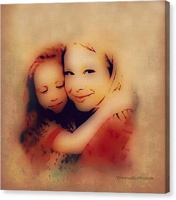 Bond Of Love  Canvas Print