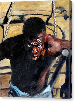 Bondage Canvas Print by John Lautermilch