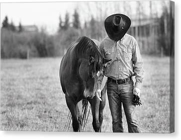 Bonded Canvas Print by Debby Herold