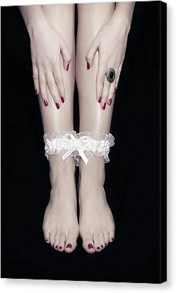 Bonded Legs Canvas Print by Joana Kruse