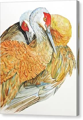 Bonded Canvas Print by Vicky Lilla