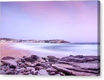 Low Tide Canvas Print - Bondi Basin by Az Jackson