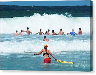 Bondi Lifeguard Canvas Print