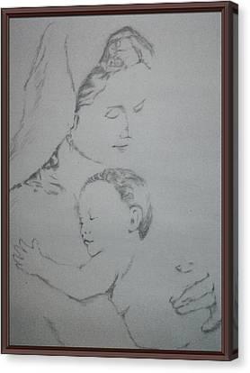 Bonding Of Love  Canvas Print