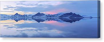 Canvas Print featuring the photograph Bonneville Lake by Chad Dutson