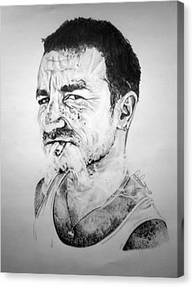Bono Canvas Print by Sean Leonard