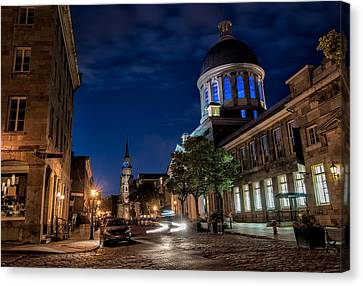 Bonsecours Market Canvas Print by James Wheeler