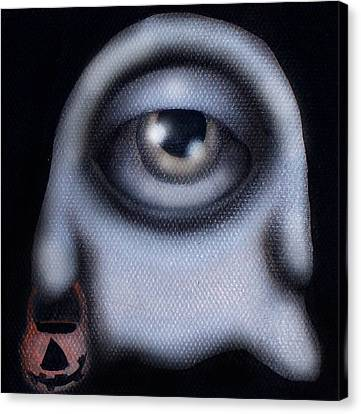 Boo Canvas Print by  Abril Andrade Griffith