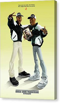 Boogie Down Productions Canvas Print