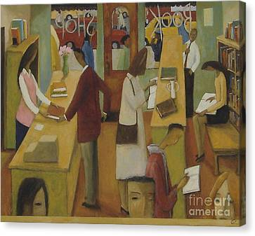 Book Shop Canvas Print by Glenn Quist