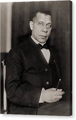 Booker T. Washington 1856-1915, Became Canvas Print by Everett