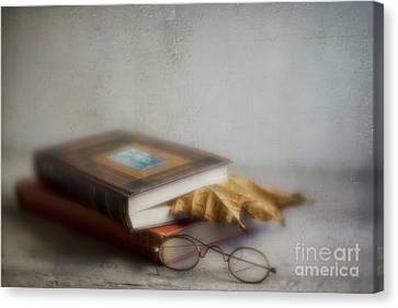 Canvas Print featuring the photograph  Bookmark by Elena Nosyreva