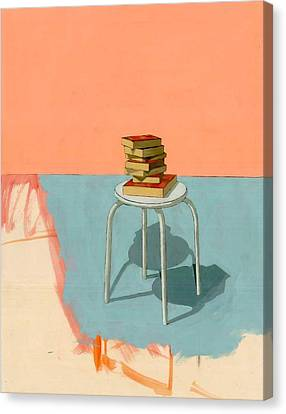 Books  Canvas Print by Adrienne Romine