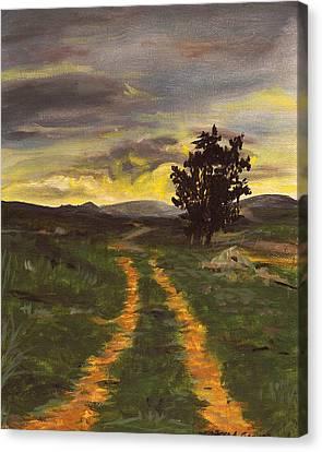 Boolavogue Road Canvas Print
