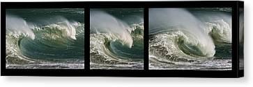 Boomer Beach Canvas Print