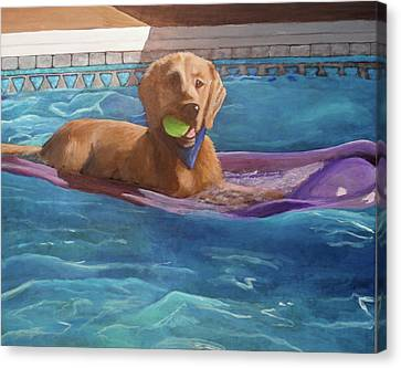 Boomer Canvas Print by Carol Russell