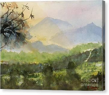 Boonah #1 Canvas Print by Sof Georgiou