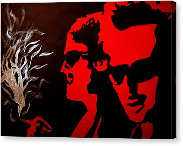 Boondock Saints Canvas Print by Michael Ringwalt