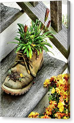 Booted Plant Canvas Print