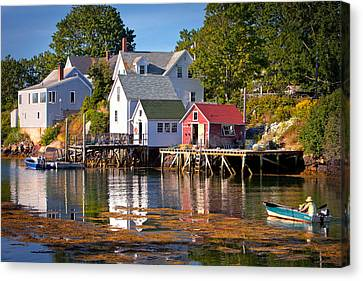 Boothbay  Maine Canvas Print by Emmanuel Panagiotakis