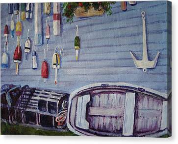 Boothbay Markers Canvas Print